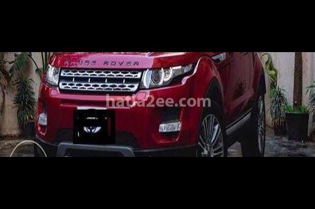 Evoque Land Rover احمر