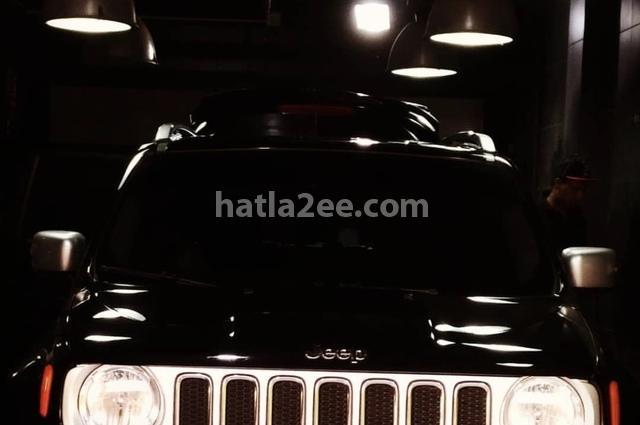Renegade Jeep أسود