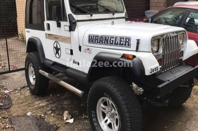 Wrangler Jeep أبيض