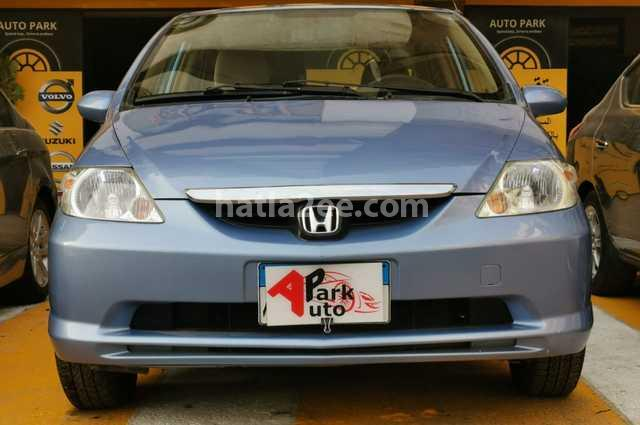 City Honda Cyan