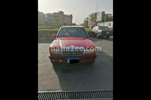 190 Mercedes احمر