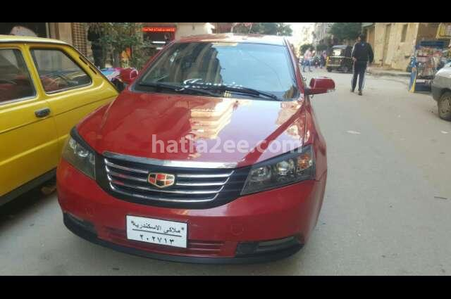 Emgrand 7 Geely احمر