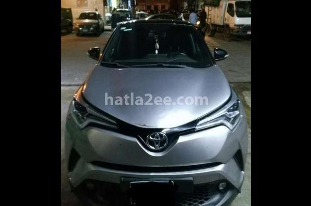 C-HR Toyota فضي