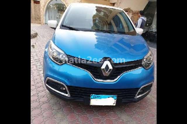 Captur Renault أزرق