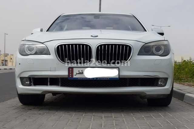 740 BMW White