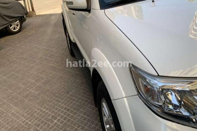 Fortuner Toyota White