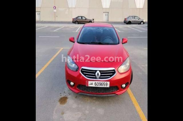 Fluence Renault Red