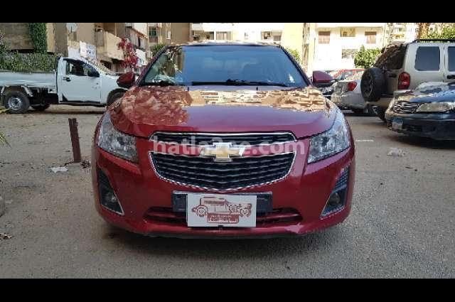 Cruze Chevrolet احمر