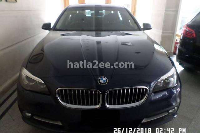520 BMW الأزرق الداكن