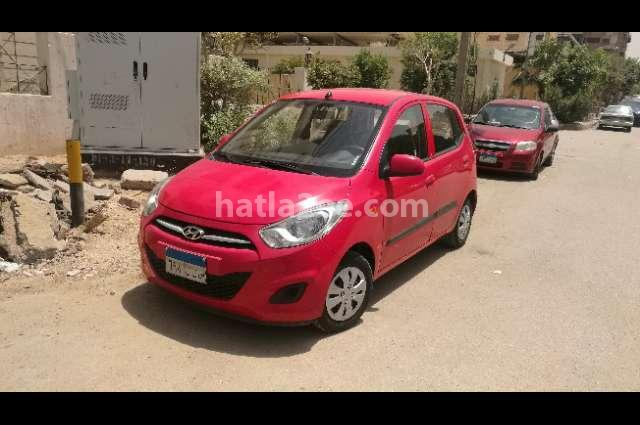 I10 Hyundai Red