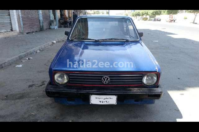 Golf Volkswagen Blue