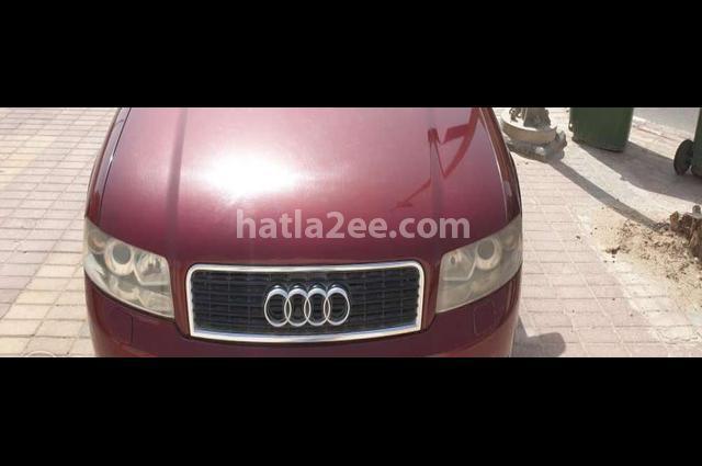 A4 Audi احمر غامق