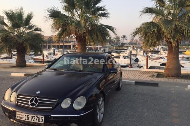 CL Class Mercedes الأزرق الداكن