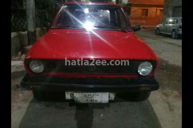 Golf Volkswagen Red