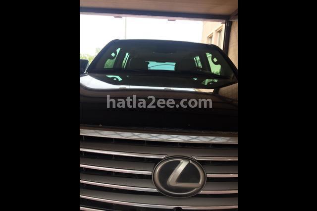 LX 570 Lexus 2011 Kuwait City Black 2577357 - Car for sale