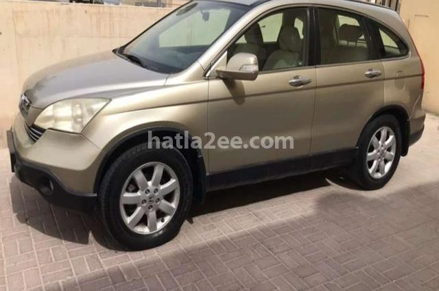 Crv Honda 2007 Doha Gold 2579863 Car For Sale Hatla2ee