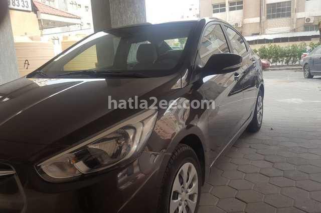 Accent Hyundai Brown
