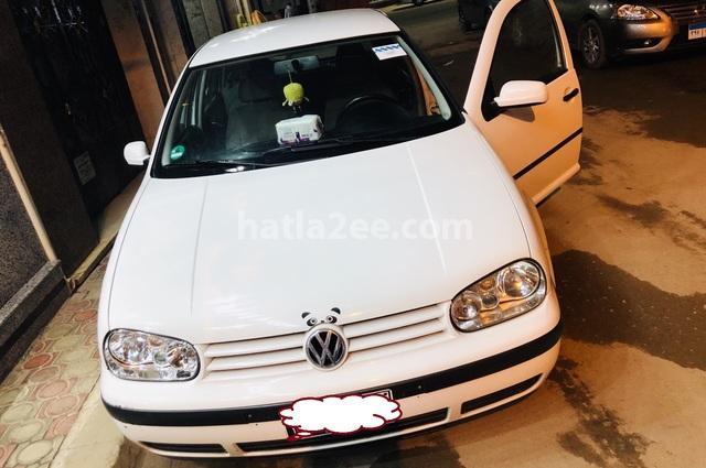Golf Volkswagen أبيض