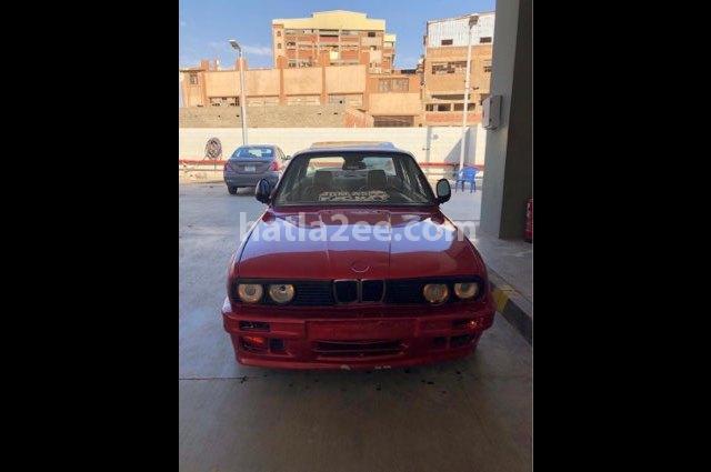 328 BMW Dark red