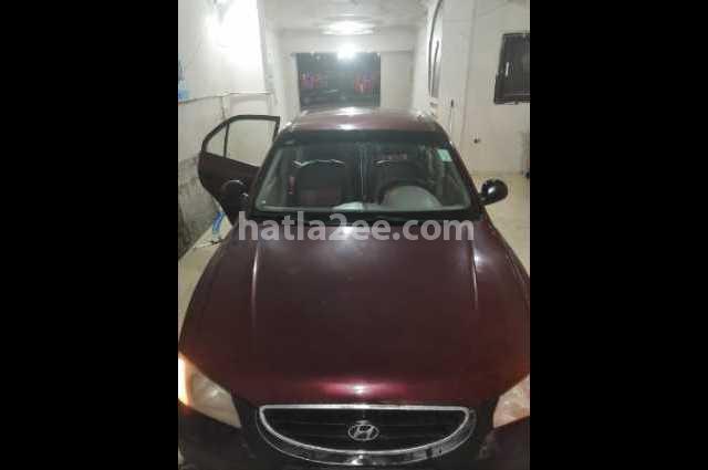 Viva Hyundai احمر غامق