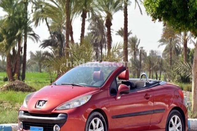 207 Peugeot احمر