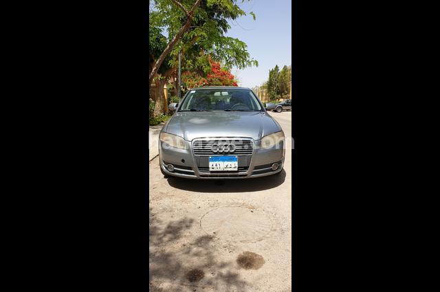 A4 Audi Gray