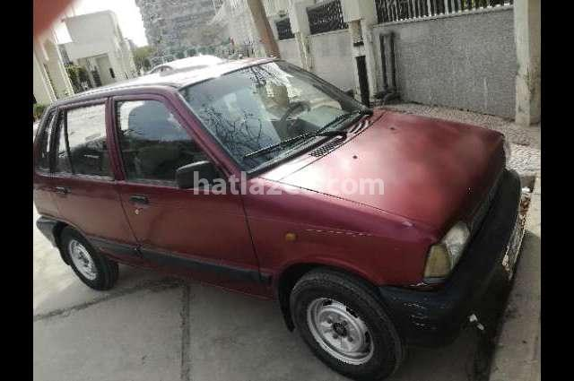 Maruti Suzuki Dark red