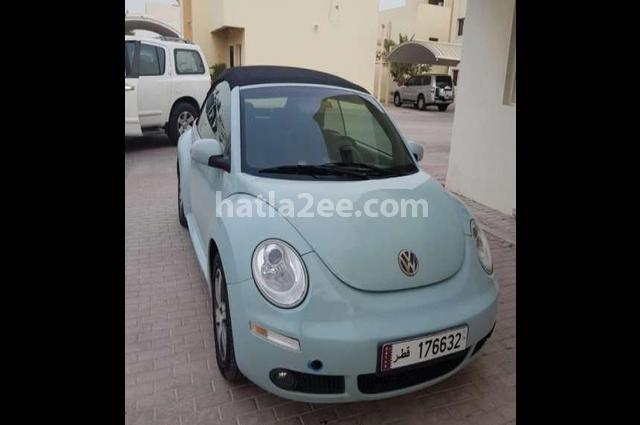 Beetle Volkswagen Cyan