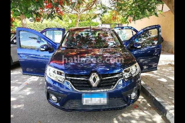 Logan Renault الأزرق الداكن