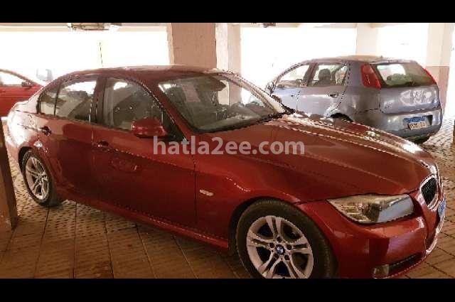 316 BMW احمر غامق