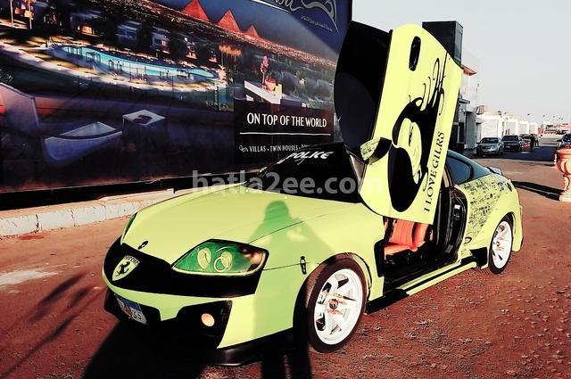Coupe Hyundai أخضر