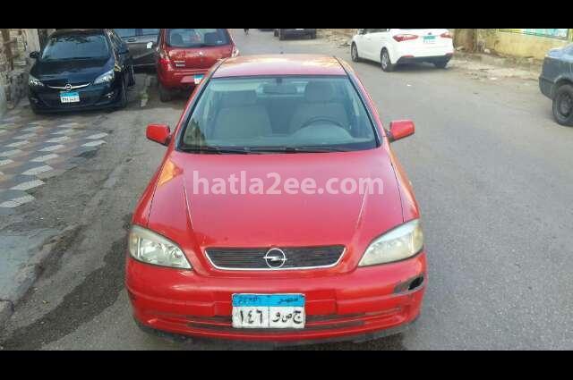 Astra Opel احمر