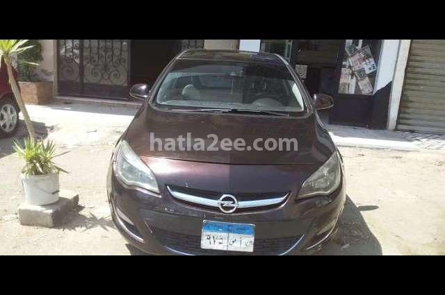 Astra Opel Purple