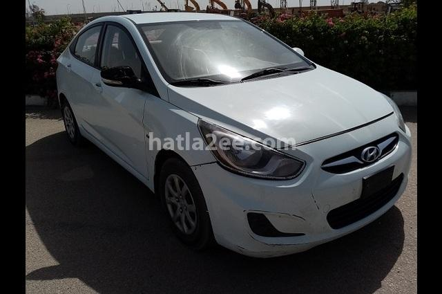 Accent RB Hyundai أبيض