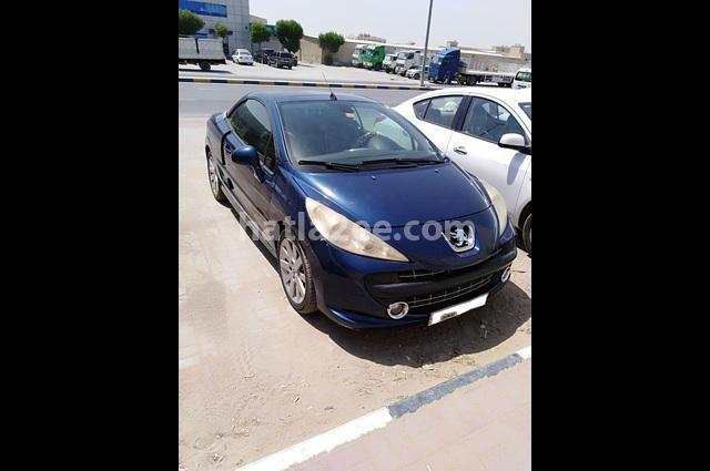 207 Peugeot أزرق