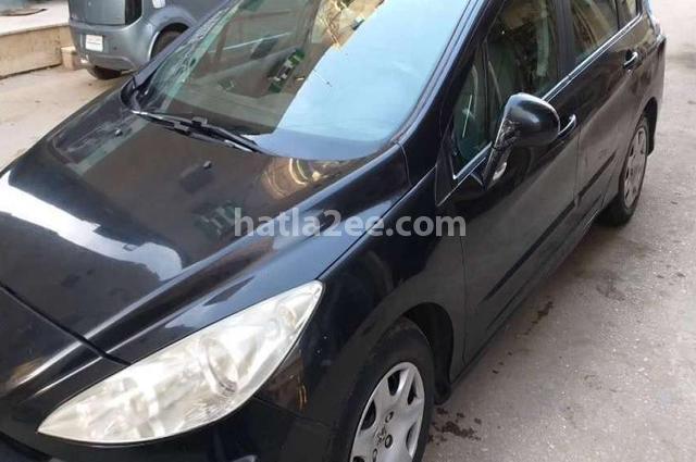 308 sw Peugeot Black
