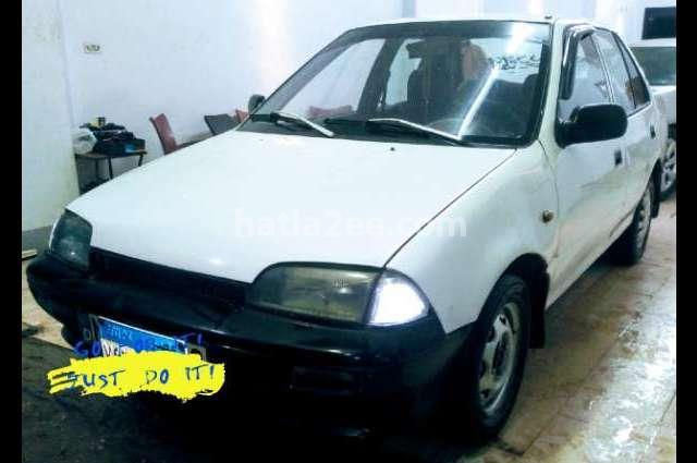 Swift Suzuki 1995 El Haram White 2608476 - Car for sale