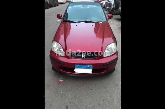 Civic Honda احمر غامق
