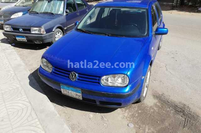 Golf Volkswagen أزرق