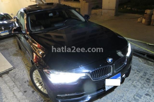 320 BMW أسود