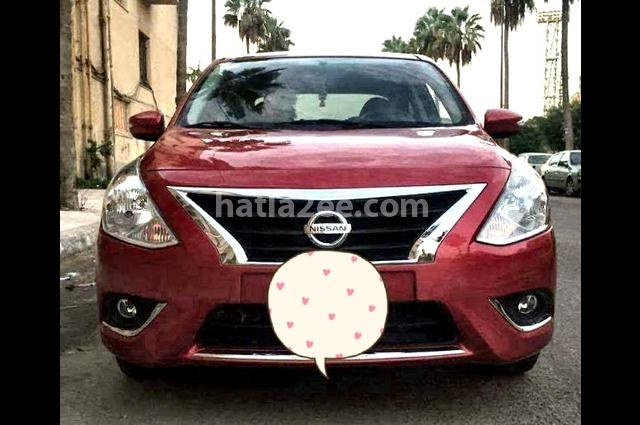 Sunny Nissan Red