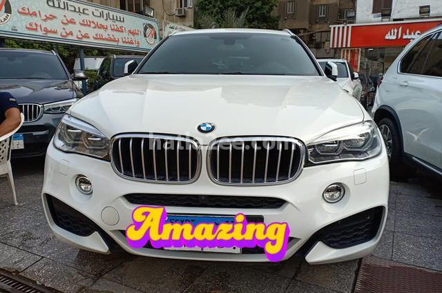X6 BMW أبيض
