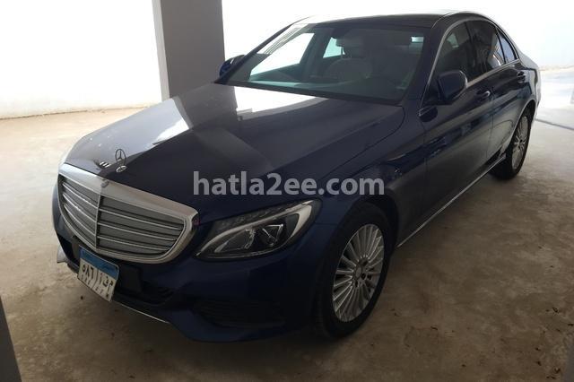 C 180 Mercedes الأزرق الداكن