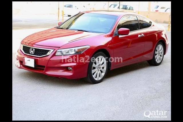 Accord Honda احمر