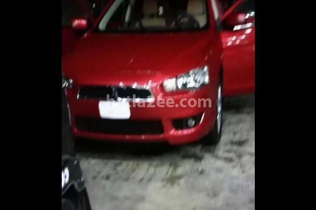 Lancer Mitsubishi Dark red