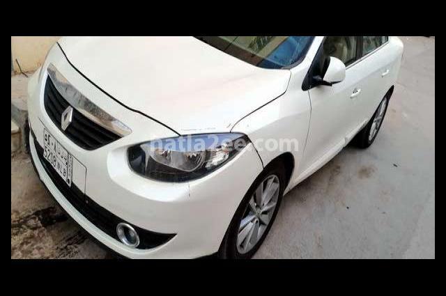 Fluence Renault White