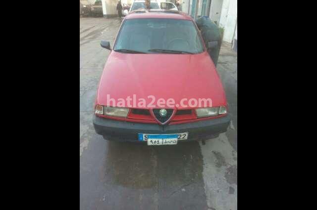 155 Alfa Romeo احمر