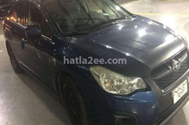 Impreza Subaru Blue