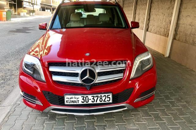 GLK 250 Mercedes Red
