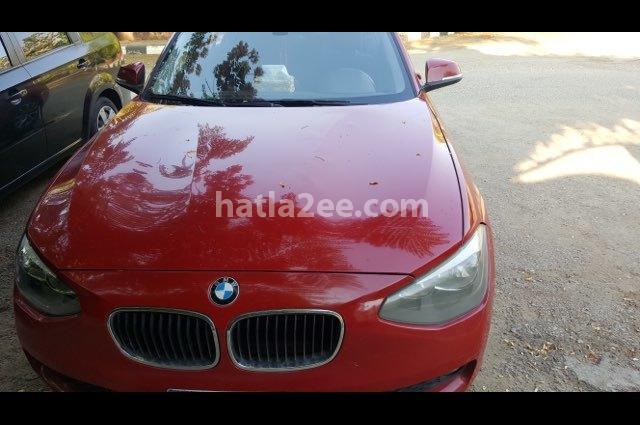 116 BMW احمر غامق